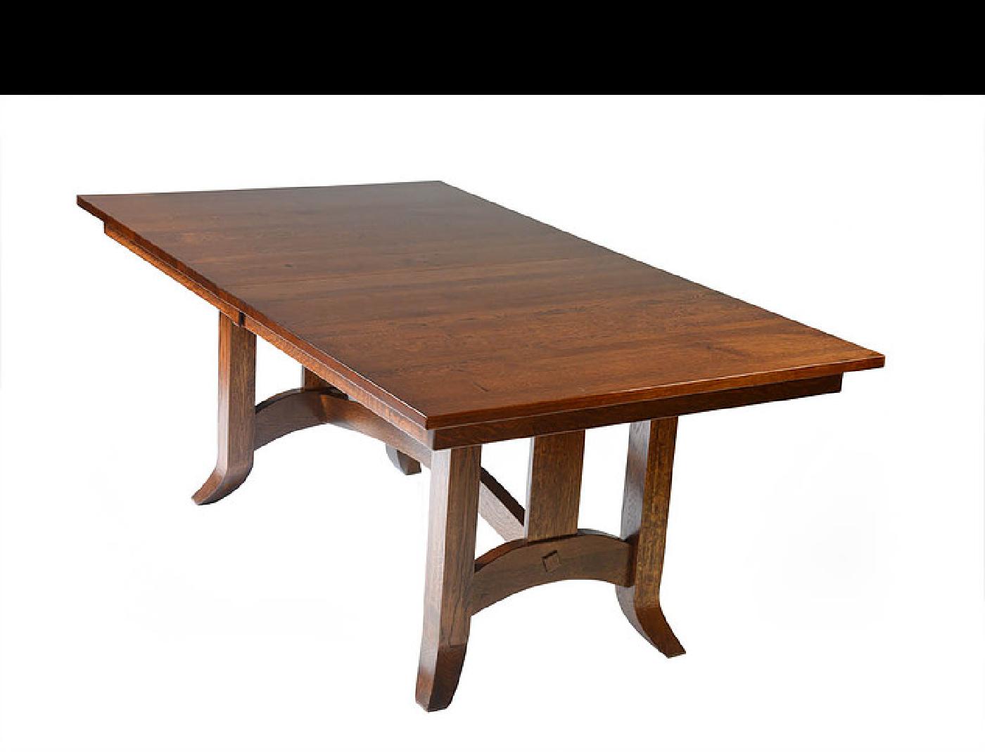 Shaker Trestle Table Amish Furniture Of Austin